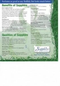 Sapphire soft leaf benefits and quality