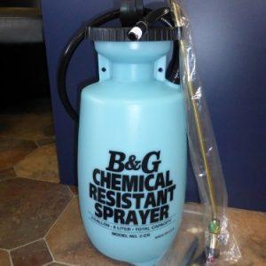 B&G Chemical Resistant Sprayer Garden Equipment